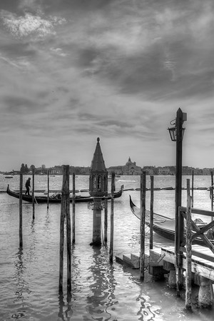 Lagoon - Piazza San Marco, Venice, Italy - April 18, 2014