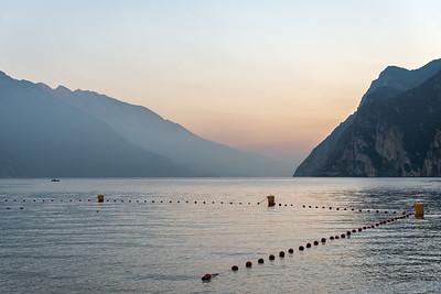 Lake Garda - Riva del Garda, Trento, Italy - October 30, 2016