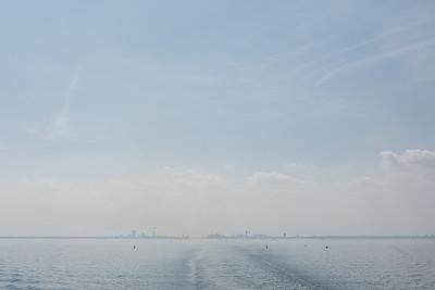 Leaving Rostock Port - Rostock, Germany - August 13, 2021