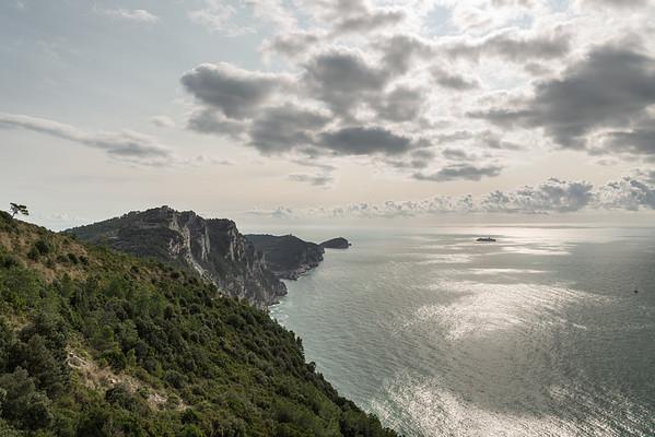 View from Sentiero AVG5T - Porto Venere, La Spezia, Italy - October 25, 2020