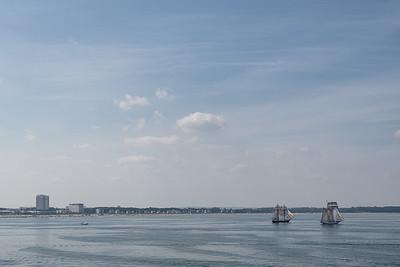 Warnemünde Strand - Rostock, Germany - August 13, 2021