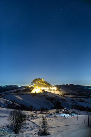 Castle of Canossa - Canossa, Reggio Emilia, Italy - February 11, 2015