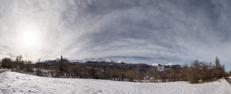 Monte Cusna - Villa Minozzo, Reggio Emilia, Italy - January 26, 2019