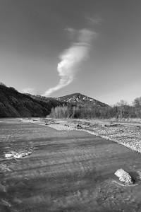 Torrente Enza - Canossa, Reggio Emilia, Italy - March 27, 2015