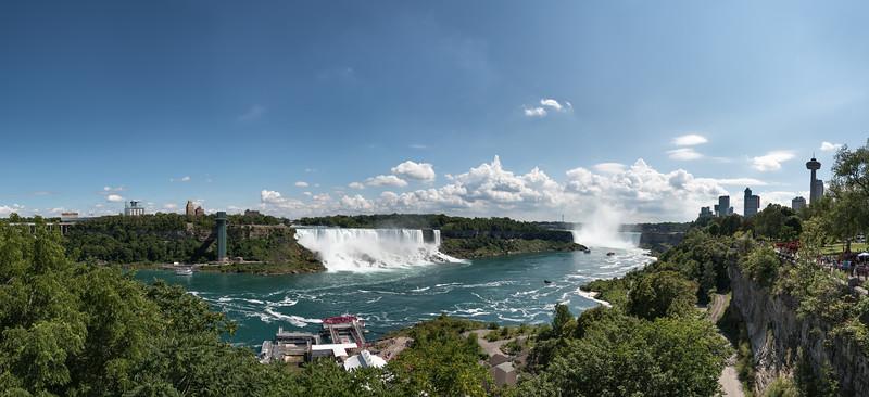 Niagara Falls - Ontario, Canada - August 11, 2015