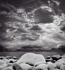 Morning Snowfall [The Triad, Mt. Desert Isle, ME]