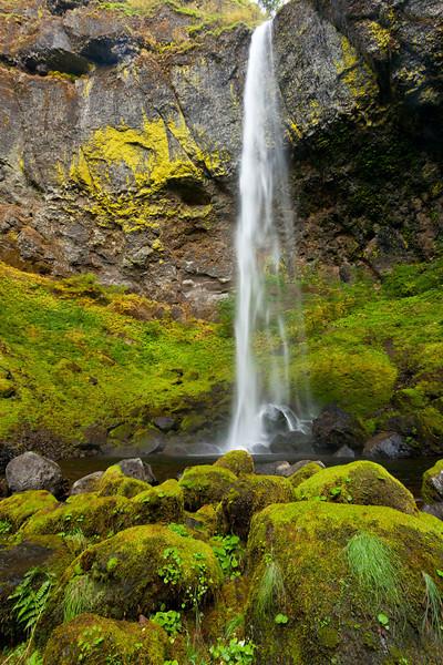 Green Elowah Falls