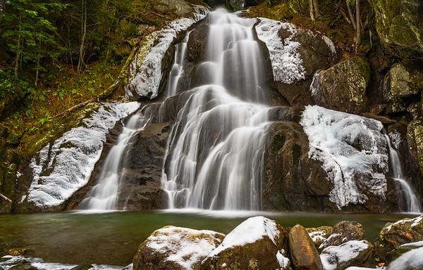 Frosty Moss Glen Falls