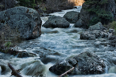 Rushing River Water 002 | Wall Art Resource
