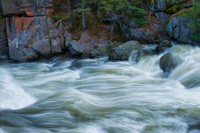 Rushing River Water 005 | Wall Art Resource