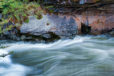 Rushing River Water 009 | Wall Art Resource