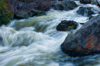 Rushing River Water 003 | Wall Art Resource
