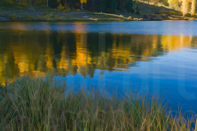 Mountain Lake Reflection 002 | Wall Art Resource
