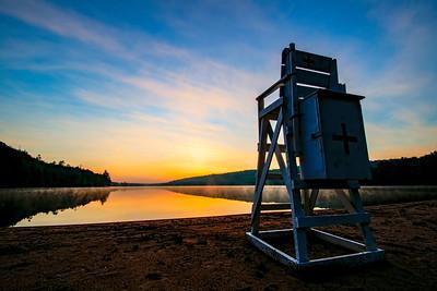 Eighth Lake at Sunrise