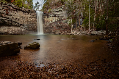 """Below Foster Falls"""