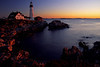 Portland Headlight Sunrise 2
