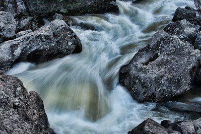 Rushing River Water 011 | Wall Art Resource