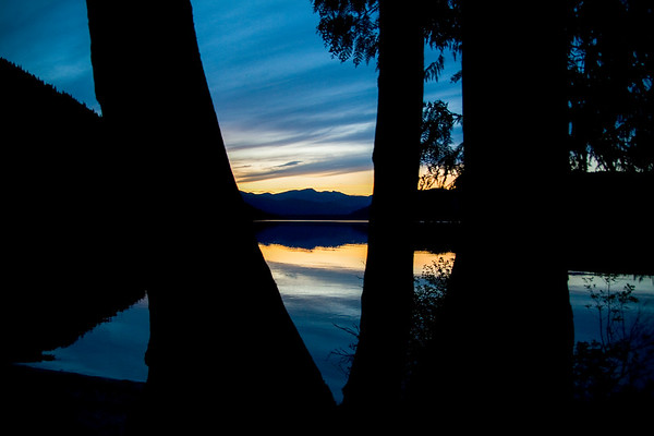 Twilight ~ Upper Priest Lake, Idaho