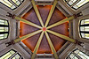 Ceiling of the Vista House at the Crown Point State Scenic Corridor <br /> Columbia River Gorge Scenic Area, Oregon, U.S.A.<br /> <br /> © Copyright Hannah Pastrana Prieto