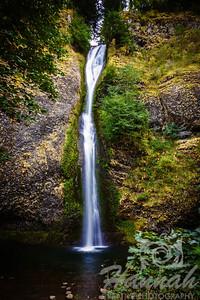 Horsetail Falls Columbia River Gorge Scenic Area, Oregon, U.S.A.  © Copyright Hannah Pastrana Prieto