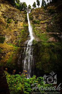 Upper Falls of the Multnomah Falls