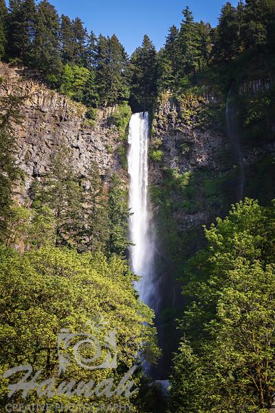 Multnomah Falls<br /> Columbia River Gorge Scenic Area, Oregon, U.S.A.<br /> <br /> © Copyright Hannah Pastrana Prieto