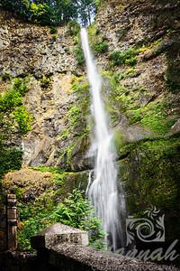Upper Falls of the Multnomah Falls