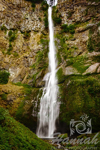 Upper Falls of the Multnomah Falls Columbia River Gorge Scenic Area, Oregon, U.S.A.  © Copyright Hannah Pastrana Prieto