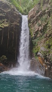 Waterfalls and Pristine Rivers in the Rincon de la Vieja National Park in Guanacaste in Costa Rica