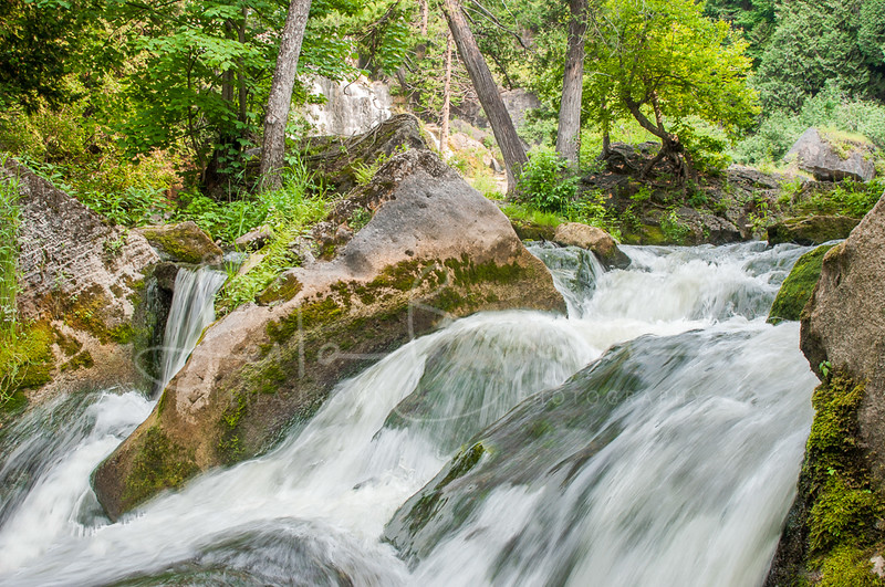 Downstream from Inglis Falls, Ontario