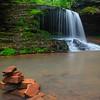 Inuksuk at Lost Creek Falls 08