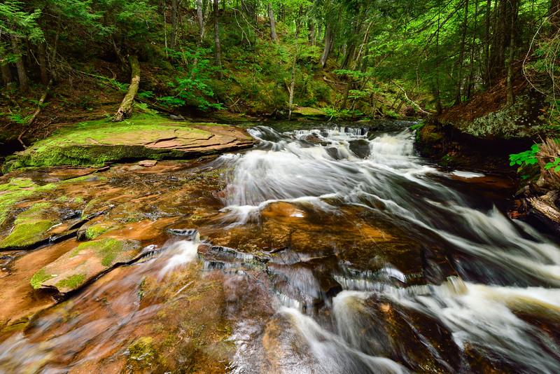 West Branch Sturgeon River Falls #2 02