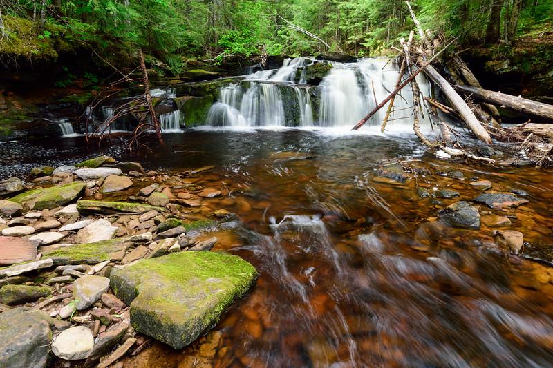 West Branch Sturgeon River Falls #1 03