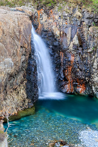 A small fall near the Fairy Pools, Skye.