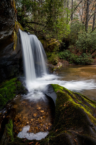 Winter at Raper Creek Falls