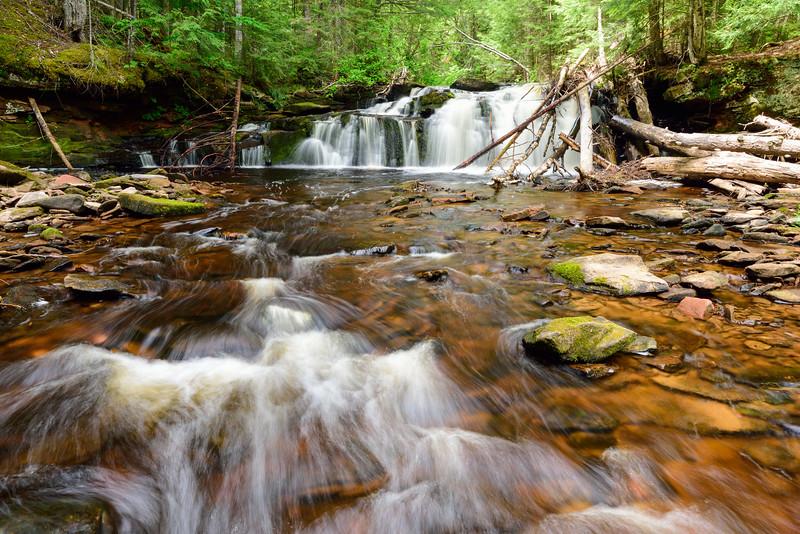 West Branch Sturgeon River Falls #1 01