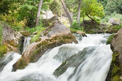 Downstream from Inglis Falls, Ontario