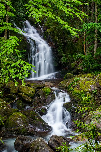 Spring at Mouse Creek Falls