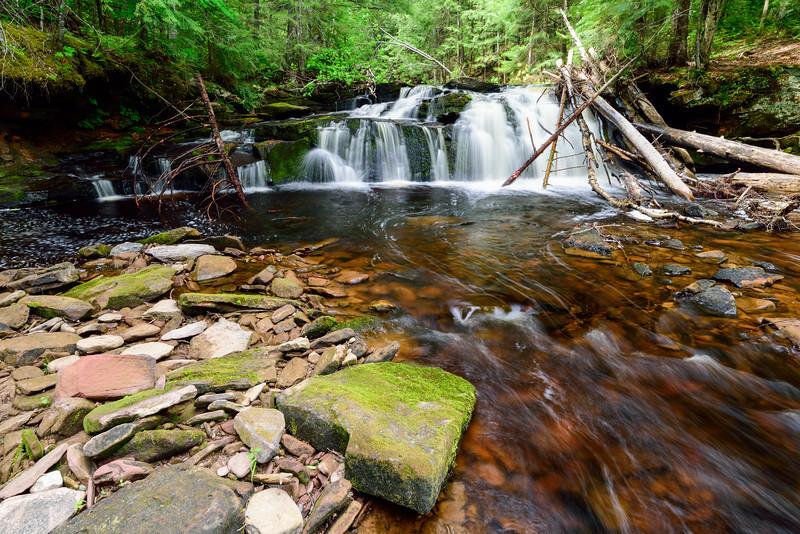 West Branch Sturgeon River Falls #1 02