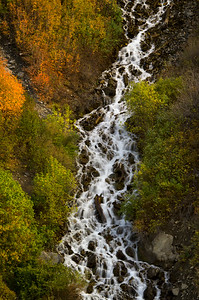 Bridal Veil Falls in the Fall