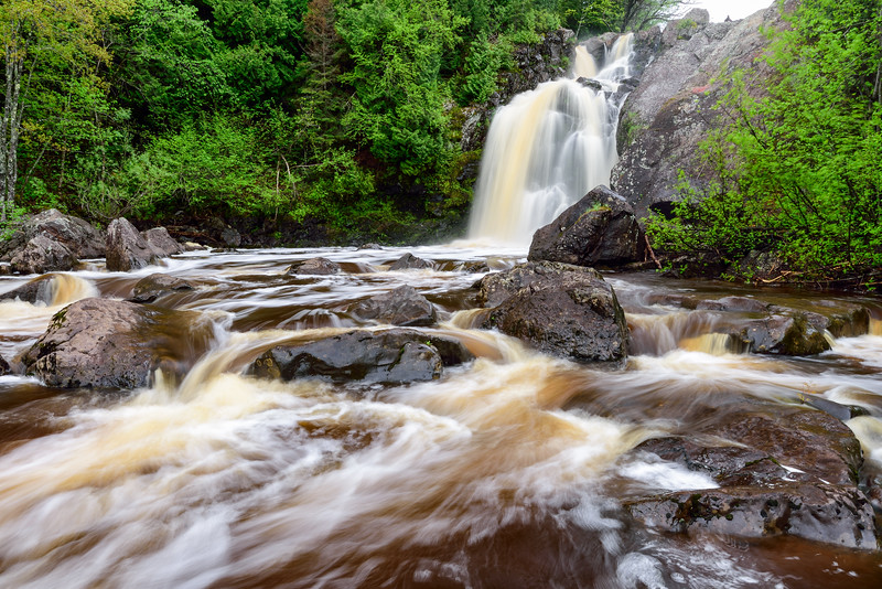 Gabbro Falls - Lower 01