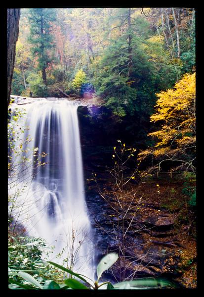 Dry Falls NC Fall 2004