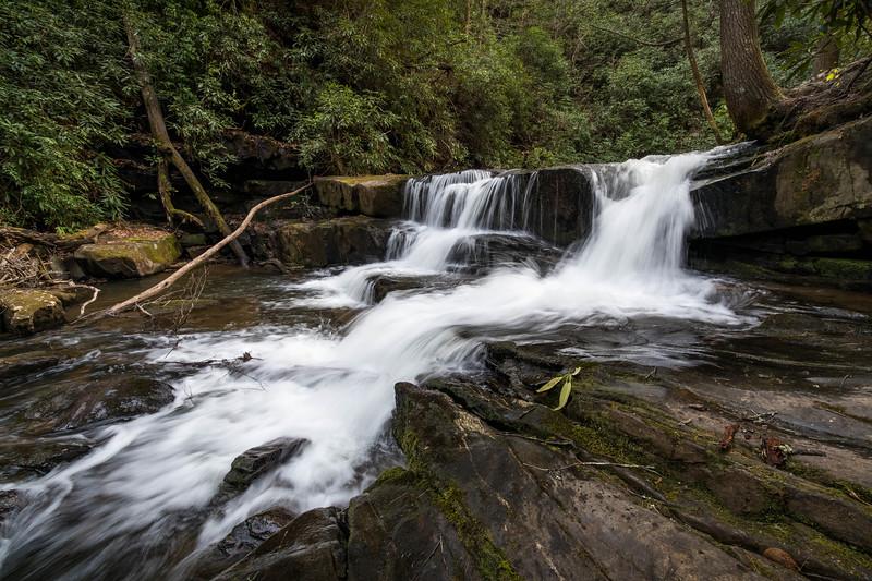 Twin Falls on Wildcat Creek