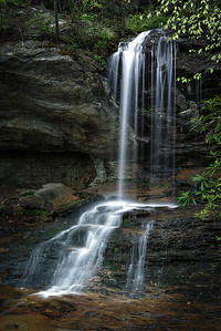 Window Falls, Hanging Rock State Park, NC.