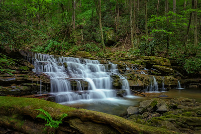 Upper Keeneys Creek Waterfall