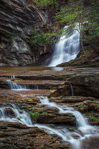 Lower Cascades, Hanging Rock State Park, NC.