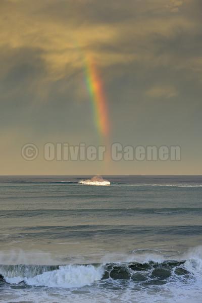 Rainbow over Belharra 28/10/2013