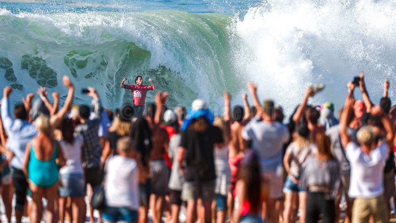 Jeremy Flores Quikpro 2019 Final Day © Olivier Caenen, tous droits reserves