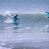 Surf à la Pointe aux oies © 2021 Olivier Caenen, tous droits reserves