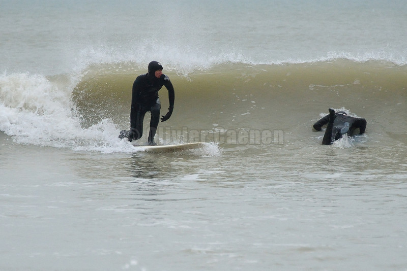 First Surf Session of the Year 2013